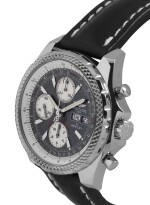 BREITLING | BENTLEY GT, REF J13362 LIMITED EDITION WHITE GOLD CHRONOGRAPH WRISTWATCH WITH DAY AND DATE CIRCA 2004