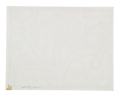 View 2. Thumbnail of Lot 212. Untitled (Pop Shop Drawing).