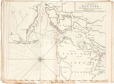 View 1. Thumbnail of Lot 56. SEA CHARTS   The English Pilot. Parts 1-4, 4 volumes, 1743-1740-1750-1742.