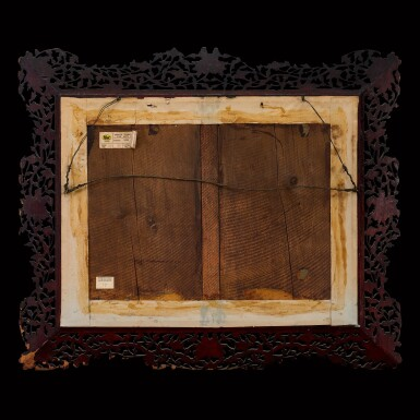 View 2. Thumbnail of Lot 180. Chowkwa (fl. 1850-1880) or His Studio, circa 1860-1865 Foreign Establishment on the Bund at Shanghai | 周呱(活躍於1850-1880年)或其工作室 約1860-1865年  上海外灘外國商館圖 布本油畫 鏡框.