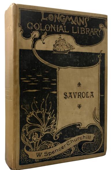 View 1. Thumbnail of Lot 9. Winston S. Churchill   Savrola. London, New York, and Bombay: Longmans, Green & Co., 1900.