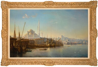 View 2. Thumbnail of Lot 16. THÉODORE GUDIN | THE GOLDEN HORN.