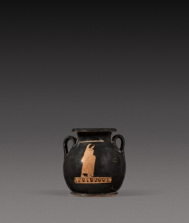 View 2. Thumbnail of Lot 15. An Attic Red-figured Pelike, 5th Century B.C..