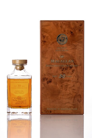 View 1. Thumbnail of Lot 5525. Macallan 30 Year Old finished in Mizunara Cask 48.6 ABV NV (1 BT70).