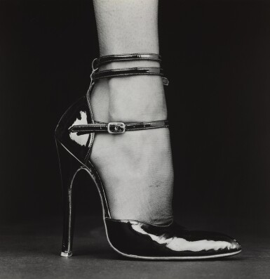 View 1. Thumbnail of Lot 77. ROBERT MAPPLETHORPE | MELODY (SHOE), 1987.