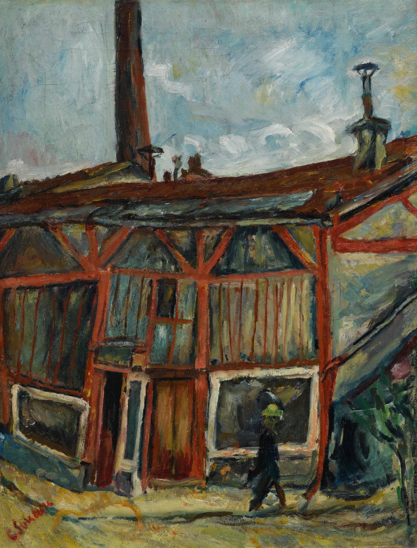 View full screen - View 1 of Lot 46. L'Atelier de l'artiste à la cité Falguière.