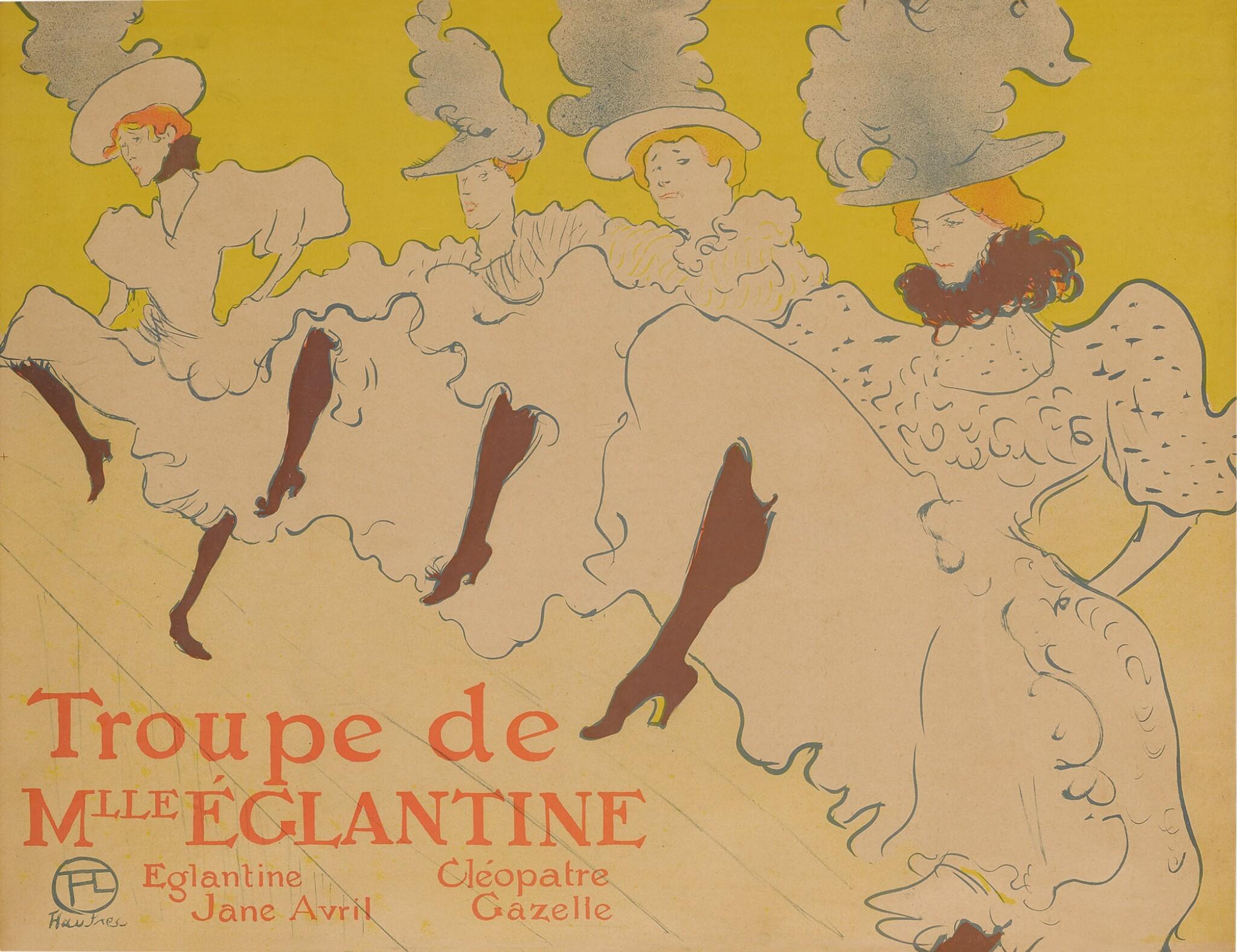 View full screen - View 1 of Lot 3. LA TROUPE DE MADEMOISELLE ÉGLANTINE (D. 361; ADR. 165; W. P21).
