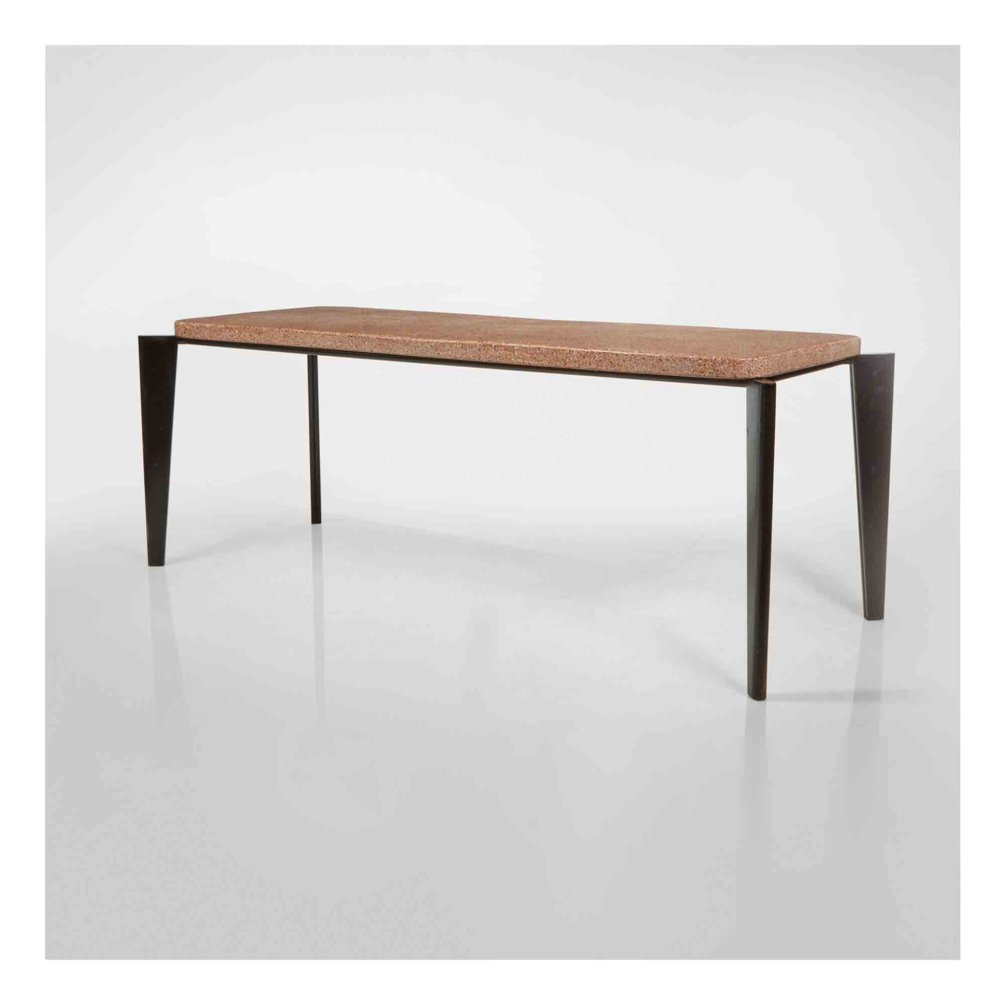 """View 1 of Lot 363. """"Flavigny"""" Dining Table, Model No. 504."""