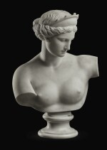 GAETANO ROSSI, AFTER THE ANTIQUE | BUST OF THE VENUS OF CAPUA