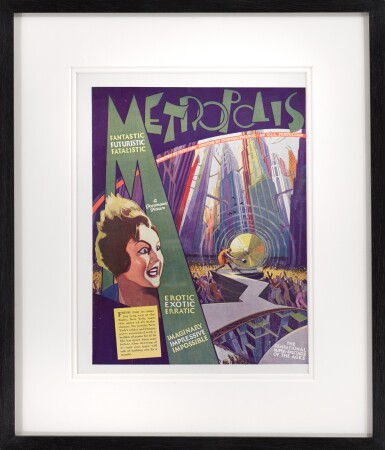 METROPOLIS (1927) TRADE ADVERTISEMENT, US
