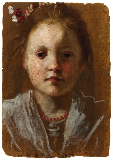 ANNIBALE CARRACCI | PORTRAIT OF A YOUNG GIRL
