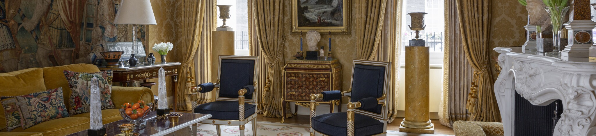 A Mayfair Pied-à-Terre: An Interior by Alidad