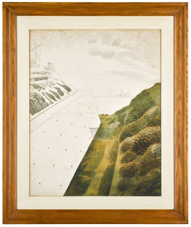 View 2. Thumbnail of Lot 734. ERIC RAVILIOUS | MARINE OBSERVATION POST.
