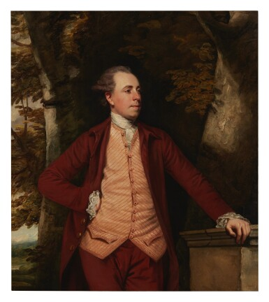View 1. Thumbnail of Lot 114. SIR JOSHUA REYNOLDS, P.R.A.  |  PORTRAIT OF RICHARD CROFTS OF WEST HARLING, NORFOLK.