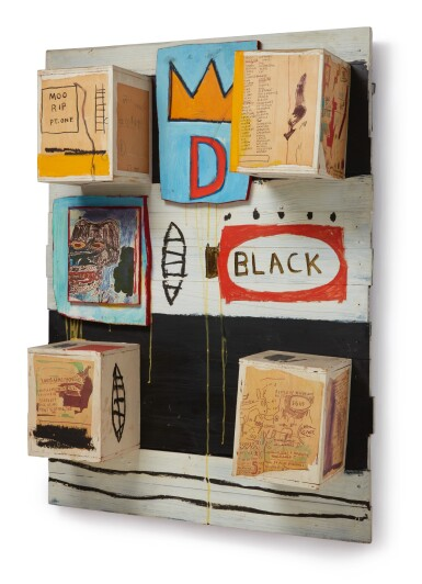 JEAN-MICHEL BASQUIAT | BLACK