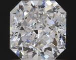 A Pair ofCut-Cornered Rectangular Diamonds Weighing 1.01 and 1.04 Carats, E Color, VS1 and VS2 Clarity