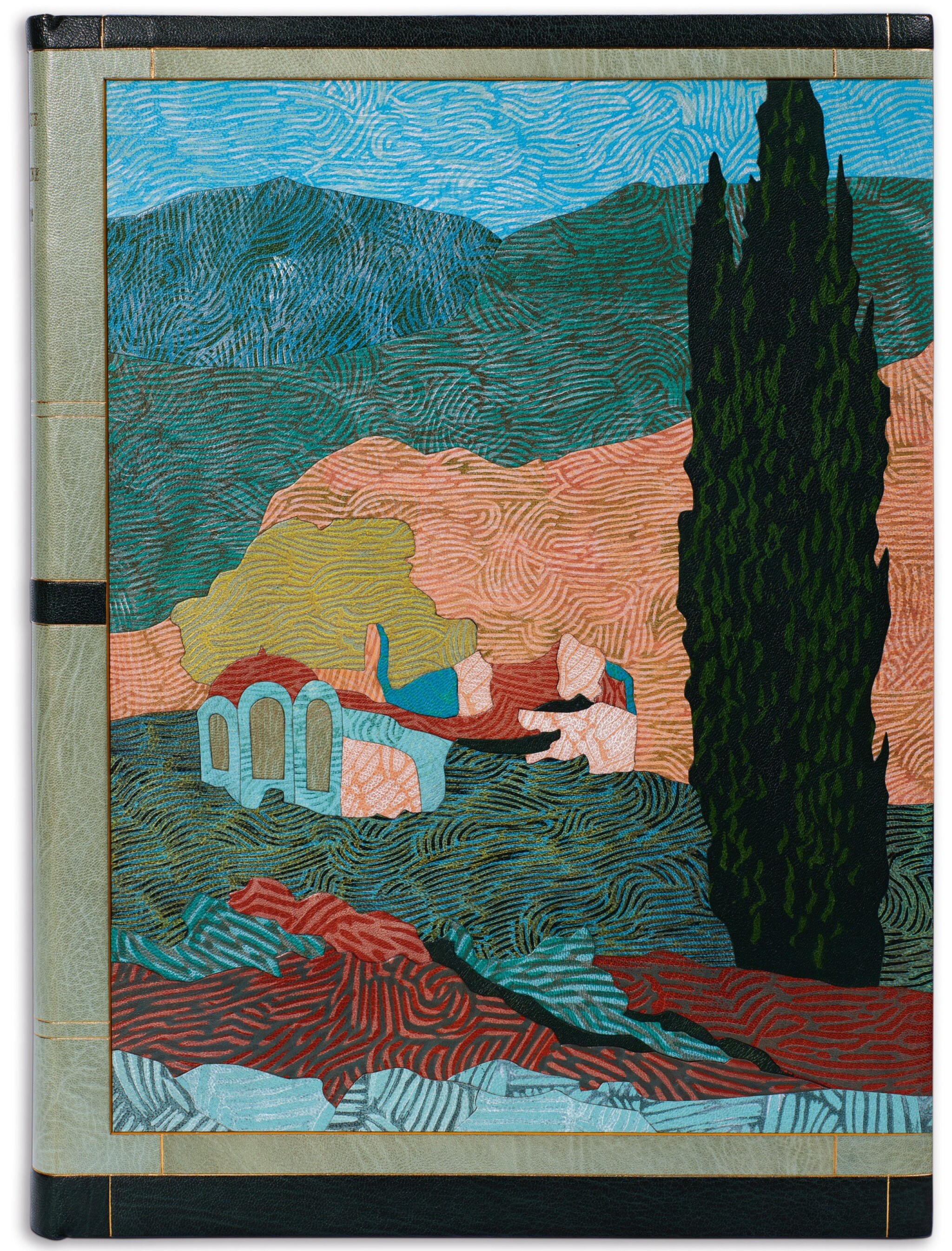 View 1 of Lot 96. Schmied and Goulden. Salonique, la Macédoine, l'Athos. Paris, 1922, modern pictorial morocco.