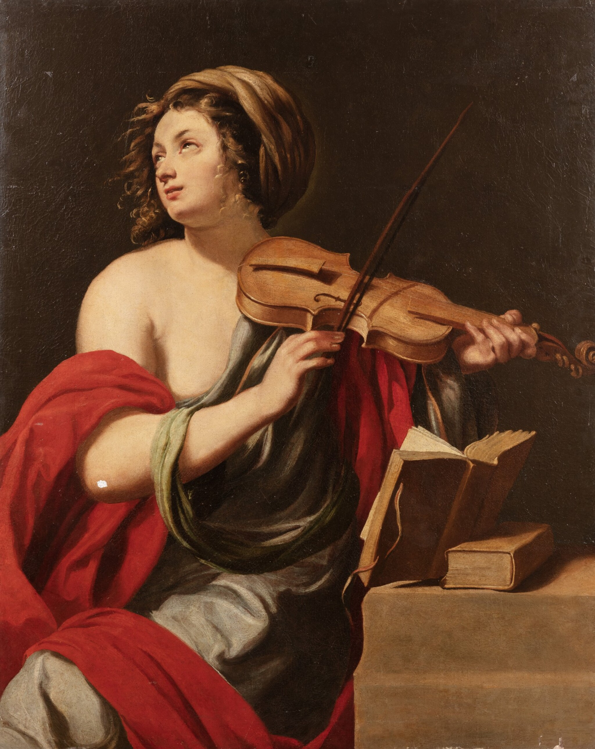 View full screen - View 1 of Lot 152. Saint Cecilia.