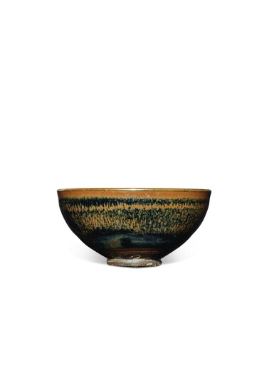 View 2. Thumbnail of Lot 712. AN EXQUISITE SMALL BLACK-GLAZED RUSSET-SPLASHED BOWL, NORTHERN SONG / JIN DYNASTY.