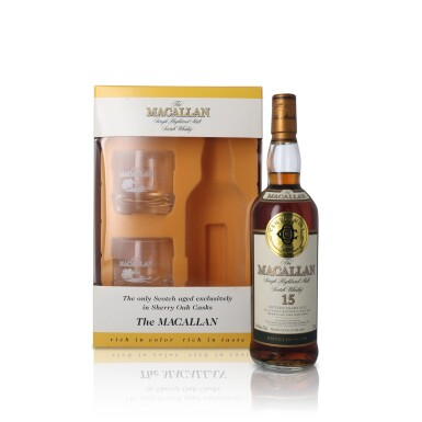 View 1. Thumbnail of Lot 24. The Macallan 15 Year Old 43.0 abv 1985 (1 BT75).