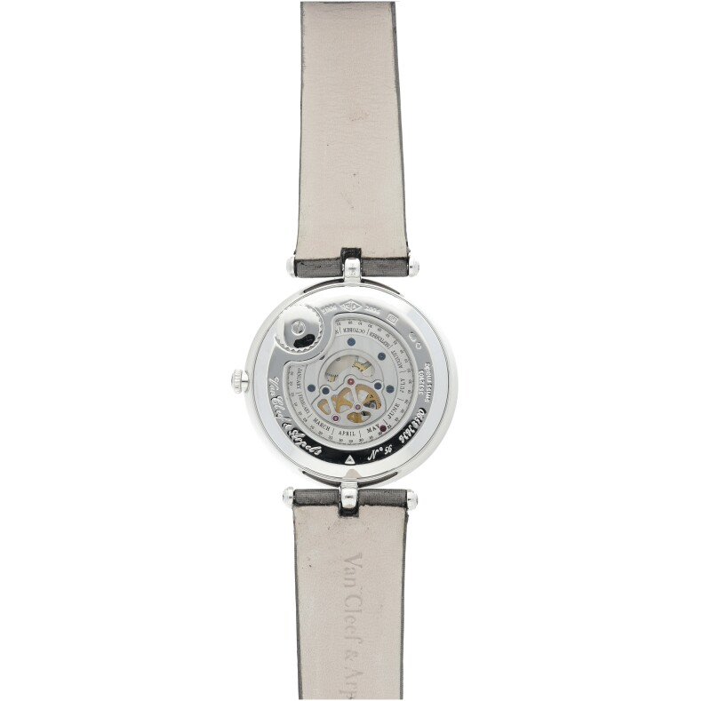 La Centenaire. A White Gold Automatic Wristwatch with Diamond-Set Bezel and Rotating Disc Depicting the Four Seasons, Circa 2006