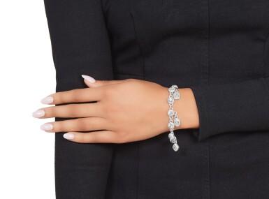 View 3. Thumbnail of Lot 360. Graff | Diamond 'Constellation' Charm Bracelet.