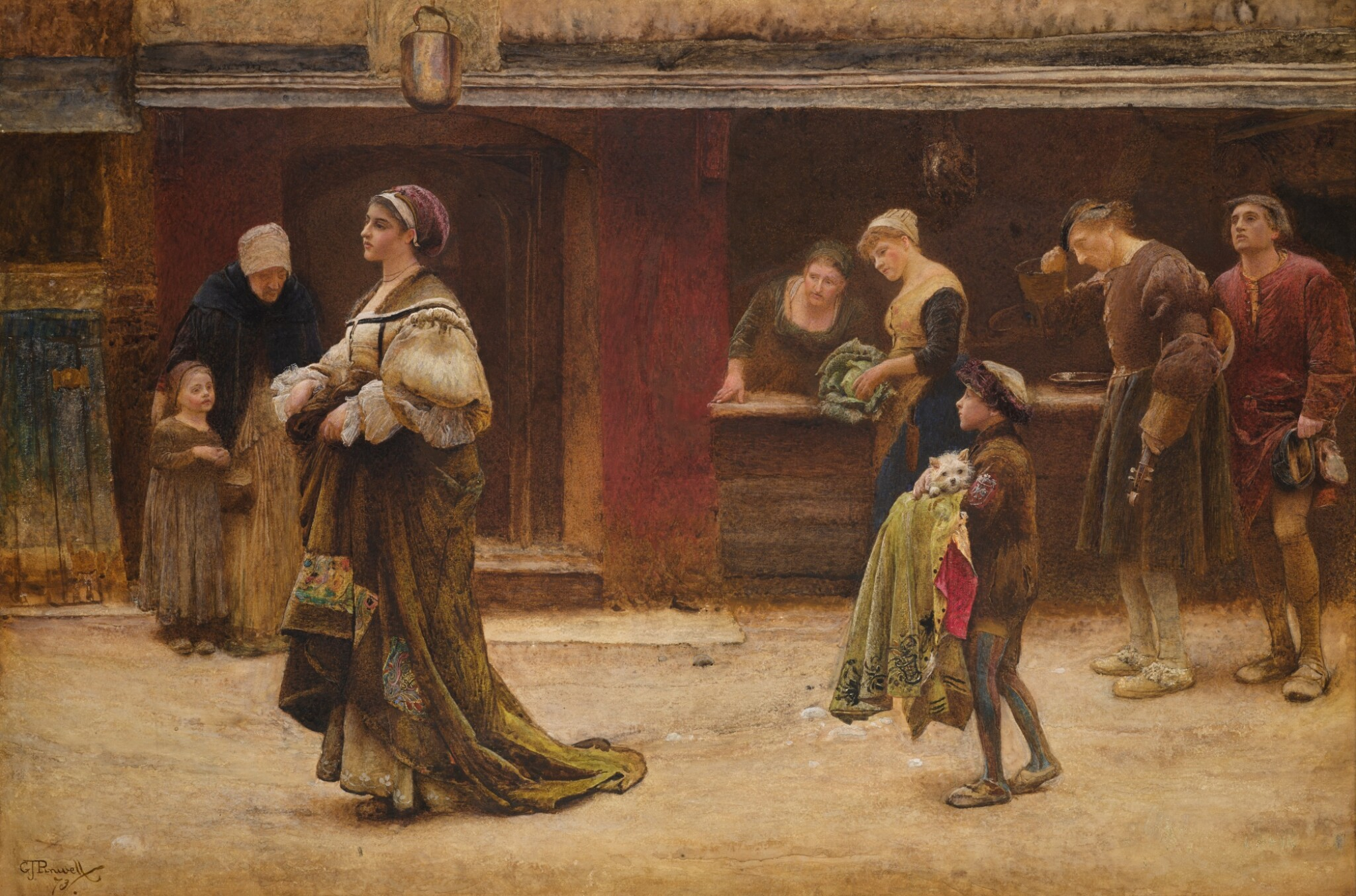GEORGE JOHN PINWELL | THE GREAT LADY