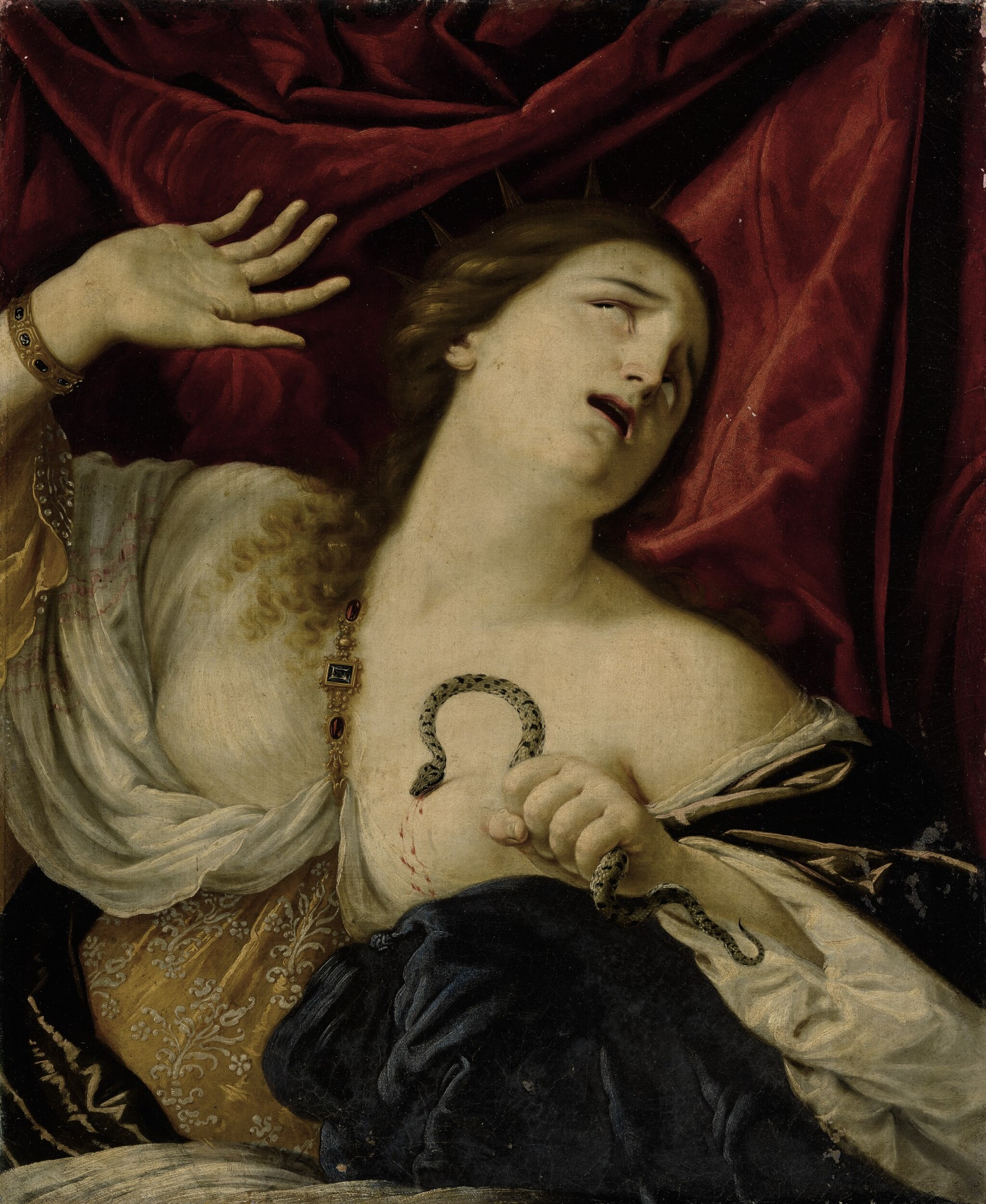 View full screen - View 1 of Lot 151. CESARE DANDINI | THE DEATH OF CLEOPATRA.
