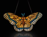 "TIFFANY STUDIOS | ""MOTH"" LAMP SCREEN"