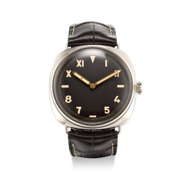View 1. Thumbnail of Lot 358. PANERAI | RADIOMIR 3 DAYS, REFERENCE PAM 376 A LIMITED EDITION WHITE GOLD WRISTWATCH WITH CALIFORNIA DIAL, CIRCA 2012.