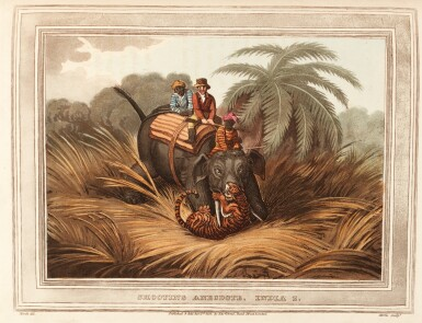 [HOWITT, SAMUEL, AND OTHERS]   FOREIGN FIELD SPORTS ... WITH A SUPPLEMENT OF NEW SOUTH WALES, 1819