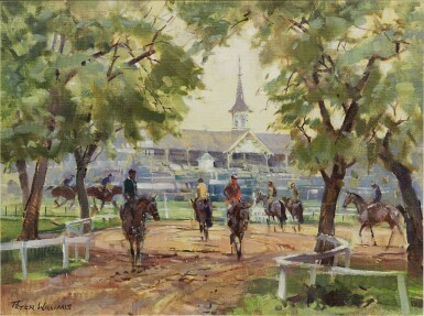 View 1. Thumbnail of Lot 20. PETER WILLIAMS | CHURCHILL DOWNS.