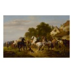 WOUTERUS VERSCHUUR | THE HORSE FAIR