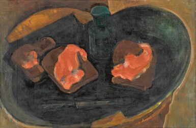 View 1. Thumbnail of Lot 118. Still Life with Red Fish.