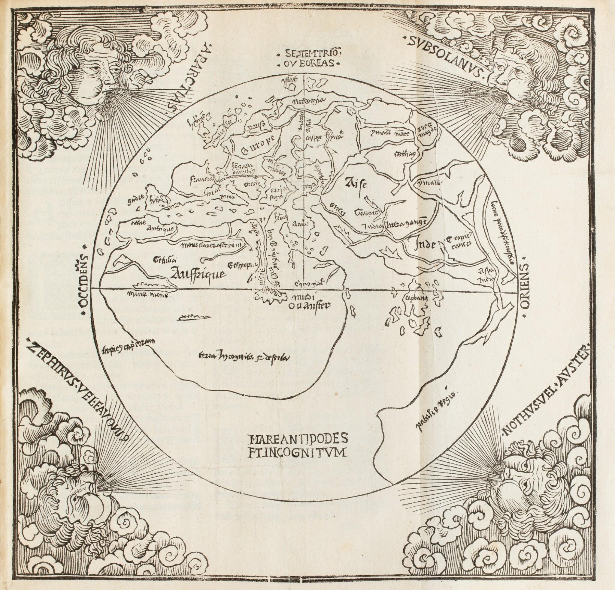 View full screen - View 1 of Lot 196. LA SALE. La Salade... de tous les pays du monde. Philippe le Noir, 1527. Petit in-folio. Rare seconde édition.