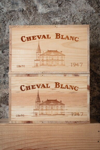 View 3. Thumbnail of Lot 268. CHÂTEAU CHEVAL BLANC 1947.