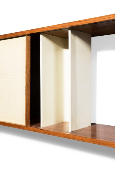 View 5. Thumbnail of Lot 17. Hanging cabinet, 1957.