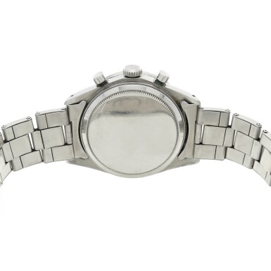 View 5. Thumbnail of Lot 279. Reference 6239 'Paul Newman' Daytona  A stainless steel chronograph wristwatch, Circa 1968.