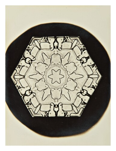 View 10. Thumbnail of Lot 142. WILSON A. BENTLEY | SELECTED IMAGES OF SNOWFLAKES.