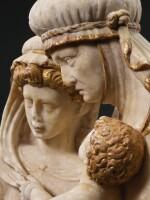 CIRCLE OF DIEGO DE SILOÉ (CIRCA 1490-1553) AND FELIPE VIGARNY (CIRCA 1470-1542), SPANISH, BURGOS, CIRCA 1520-1525 | SAINT ANNE WITH THE VIRGIN AND CHILD