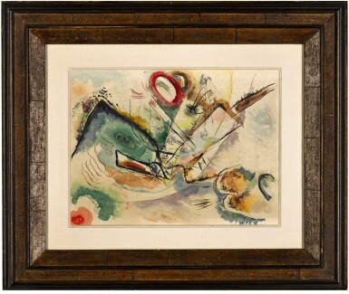 View 2. Thumbnail of Lot 8. WASSILY KANDINSKY | OHNE TITEL (KOMPOSITION)  (UNTITLED (COMPOSITION)).
