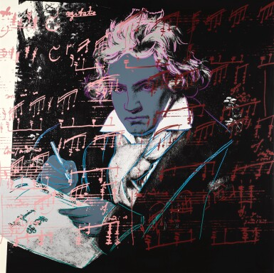 View 2. Thumbnail of Lot 188. ANDY WARHOL | BEETHOVEN (F. & S. II.390-393).