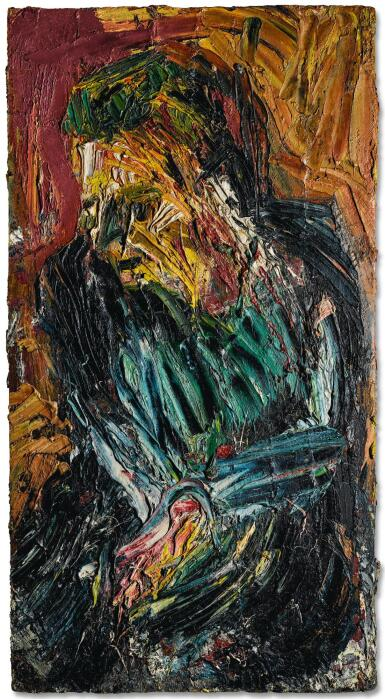 LEON KOSSOFF | PORTRAIT OF PHILIP NO. 2