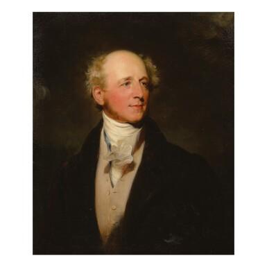 SIR THOMAS LAWRENCE, P.R.A. AND STUDIO | PORTRAIT OF JOHN ANGERSTEIN, MP (1773 - 1858) HALF-LENGTH