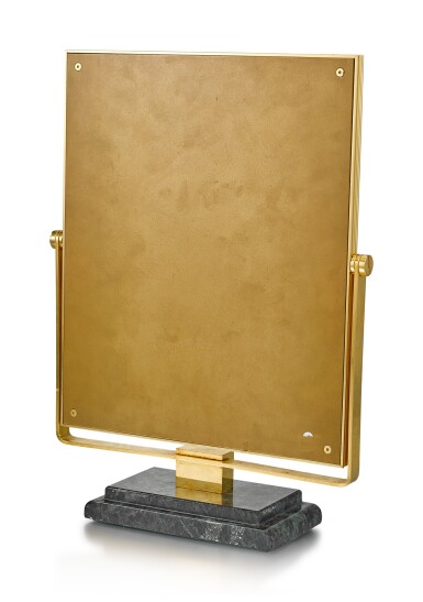 View 3. Thumbnail of Lot 8138. ROLEX   A RETAILER'S DISPLAY MIRROR WITH MARBLE STAND, CIRCA 1980.