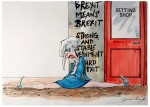 "SCARFE | [THE 2010s] | ""The Gambler"" [Theresa May]"