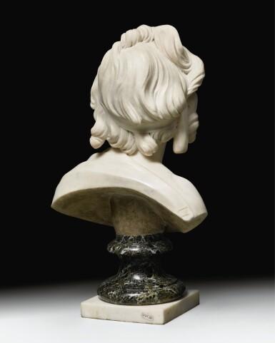 View 11. Thumbnail of Lot 63. Portrait of Constance-Félicité-Victoire-Désirée Vassé, daughter of the artist.
