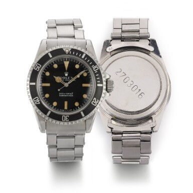 """View 1. Thumbnail of Lot 376. ROLEX 