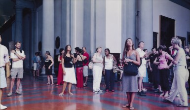 THOMAS STRUTH | AUDIENCE 10 (GALLERIA DELL'ACCADEMIA), FLORENZ
