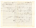 J. Brahms. The correspondence with Ernst Rudorff, 16 letters with replies, and an autograph music manuscript 1865-1887